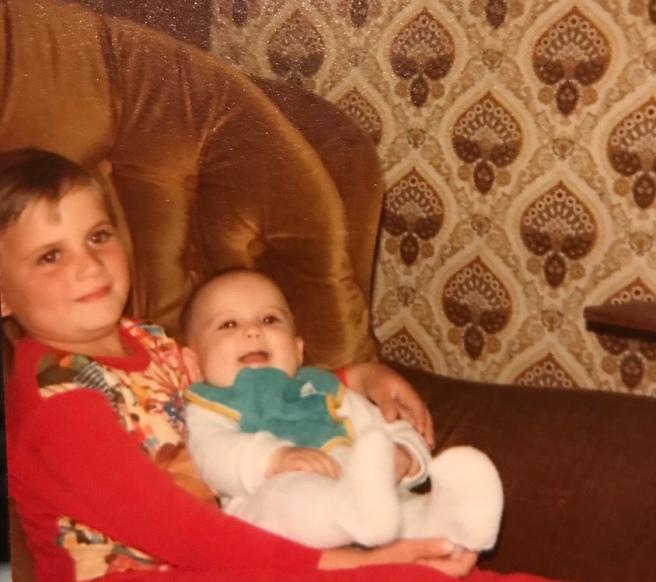 Me and my big bro.